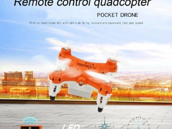 L6058 Mini Pocket RC Quadcopter Drone UAV with Headless Mode Speed Mode P#