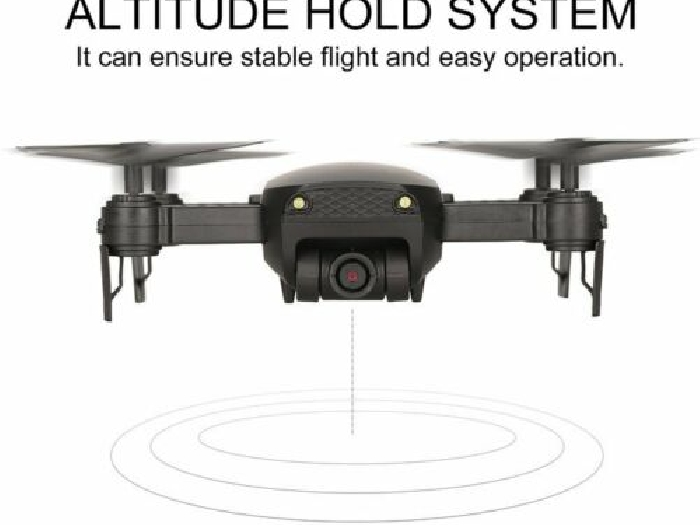 668-Q1W 720P RC Drone Quadcopter with HD Camera Altitude Hold Helicopter P#