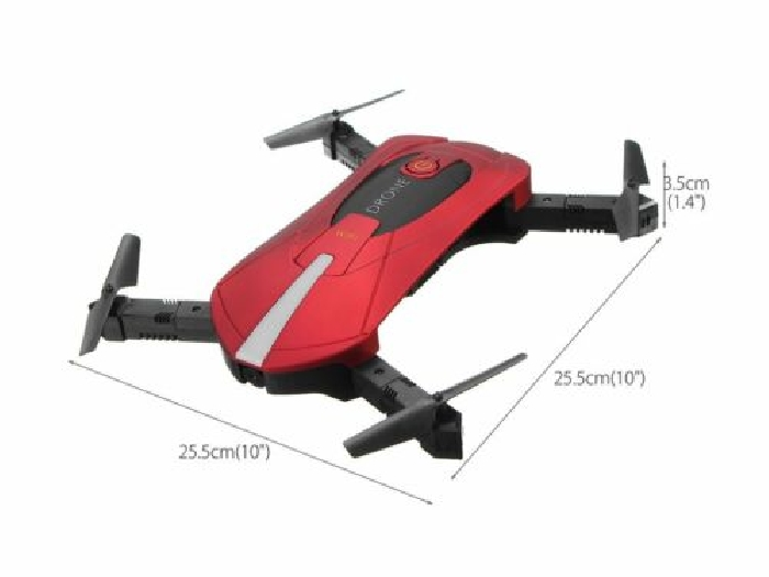Selfie Drone Foldable Mini Helicopter Altitude Hold Headless WiFi QuadcopterG@