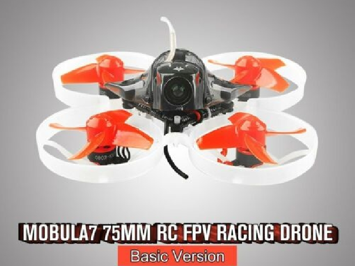 Happymodel Mobula7 75mm Crazybee F3 Pro OSD 2S Whoop RC FPV Racing Drone Basic U