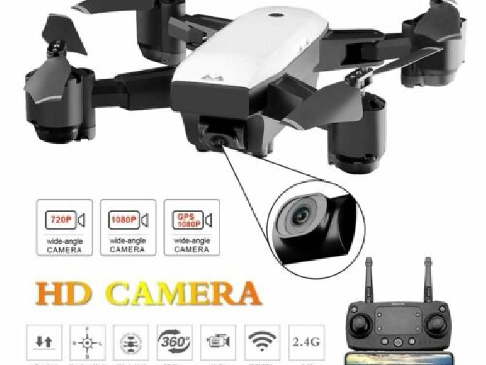 SMRC S20 FPV Drone RC Quadrocopter With 720P Camera Folding RC Helicopter P#