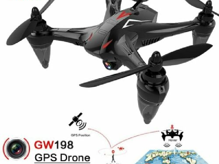GW198 5G WiFi Brushless Drone Altitude Hold Helicopter Follow Me RC Drone??