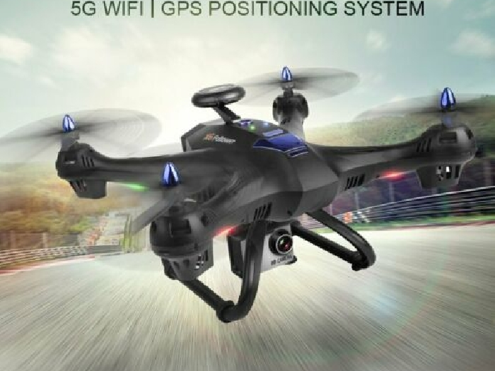 X183S RC Drone with 720P 5G Camera Altitude Hold Headless GPS Quadrocopte?X6@