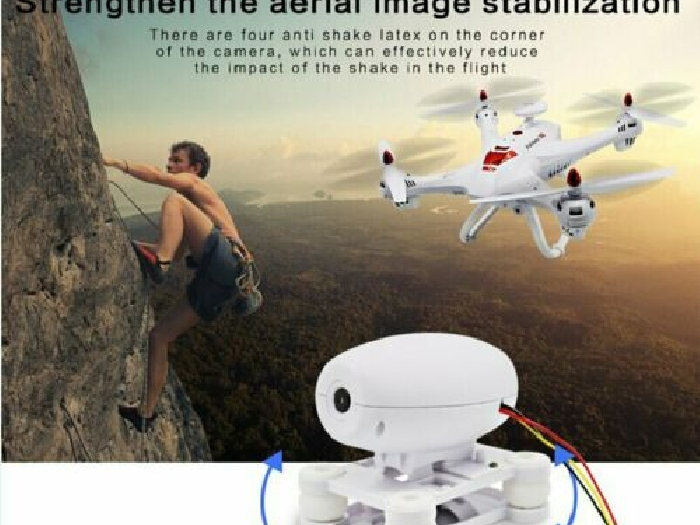 Drone X183 Professional Altitude Hold GPS Quadrocopter with 720P Cam MZ
