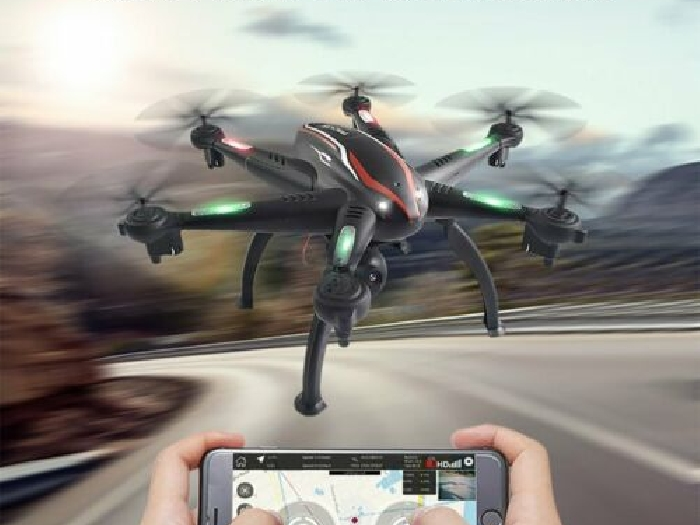L100 6-Axis 1080P Wide Angle 5G RC Drone Quadcopter Aircraft WiFi FPV  MZ