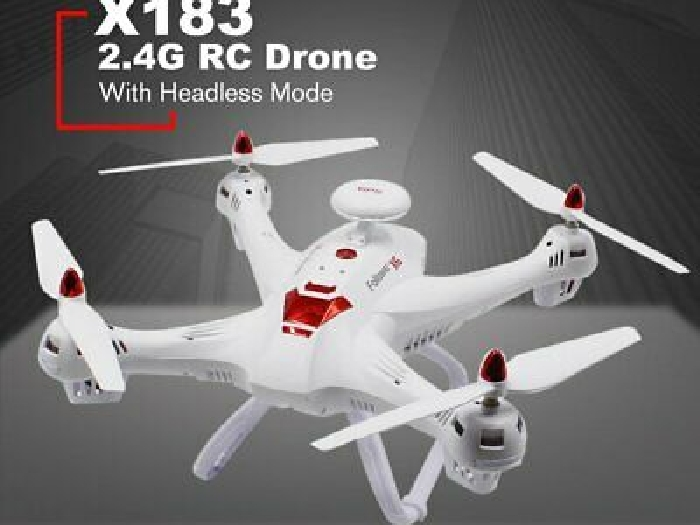 X183 2.4G RC Drone Headless Mode Altitude Hold One Key Return Quadrocopter TY