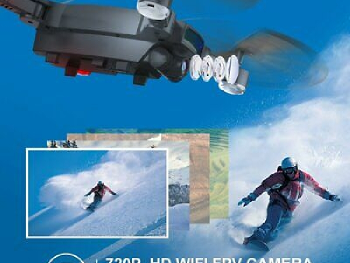 S6 720P WIFI Camera Quadcopter Altitude Hold Optical Flow Positioning Drone TY