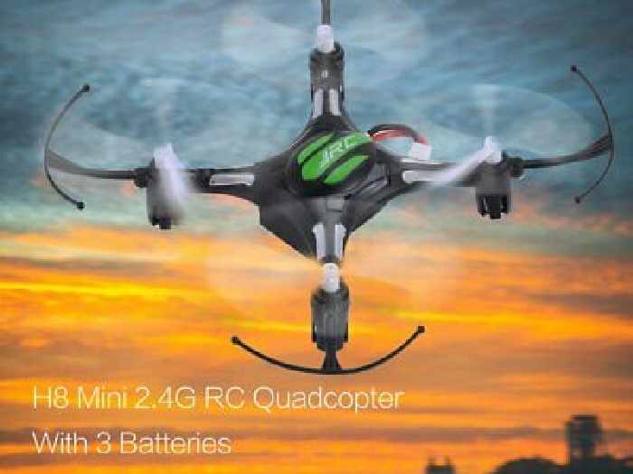 JJR/C H8 Mini 2.4G RC Drone Quadcopter with 3 Batteries Combo Headless Mode NH
