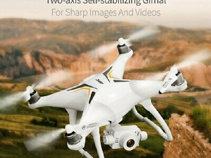 JJR/C X6 GPS Drone Brushless 5G WiFi FPV 1080P Camera RC Drone w/ 3 Battery