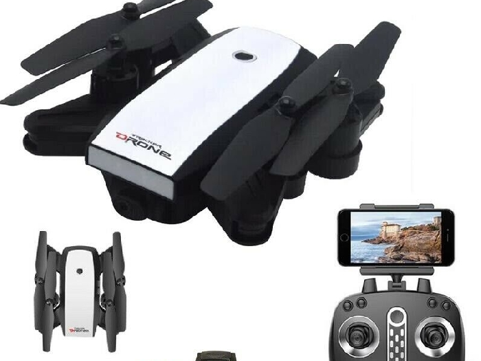 LH-X28GWF Dual GPS FPV 2.4G 4 Axis RC Quadcopter Foldable Drone WIFI 720P Caméra