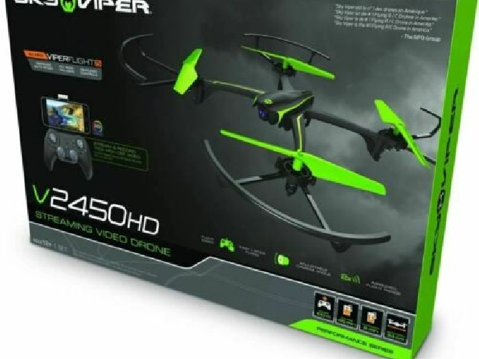Sky Viper - V2450HD - Streaming Video Drone - Modelco/Goliath