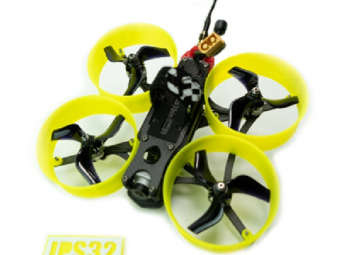iFlight MegaBee V2 FPV Racing Drone 6x protections d'hélices jaune Fluo DUCTS