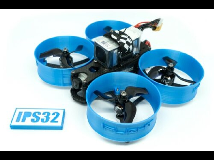 iFlight MegaBee V2 FPV Racing Drone 6x protections d'hélices Bleue DUCTS