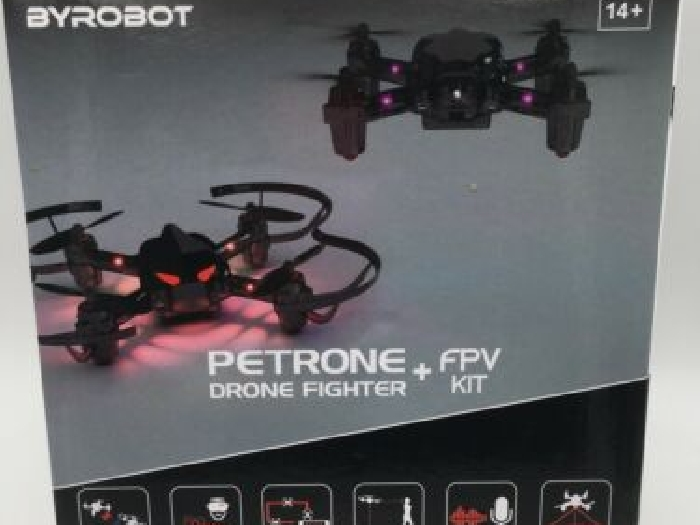 Petrone Drone Fighter + Fpv Kit Byrobot Comme Neuf