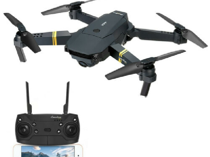 Drone avec Camera 2MP 720P Grand Angle WIFI 3 Batteries EACHINE E58 Pliable FR