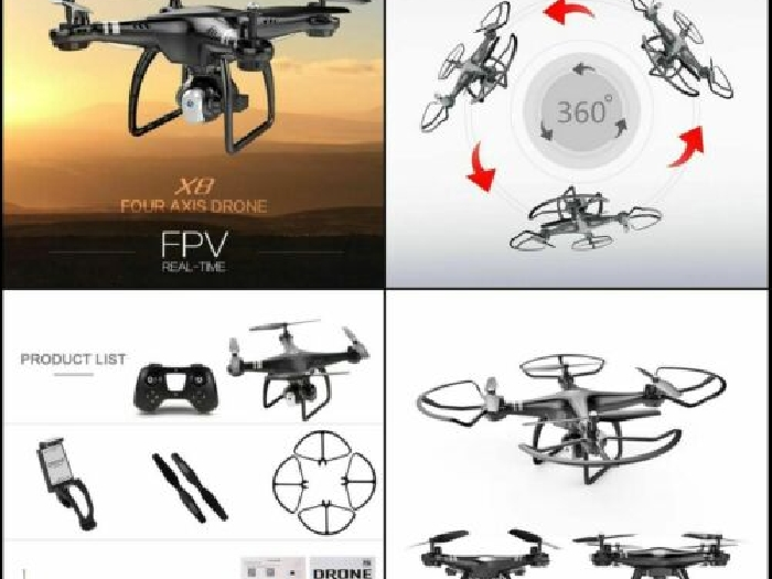 Quadcopter RC 2.4G 720P FPV Drone Wifi Camera Altitude Hold RC