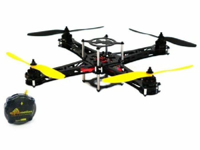 Kit Drone Hunter Crazy2Fly Lynxmotion (Combo de Base + Controleur Quadrino Nano