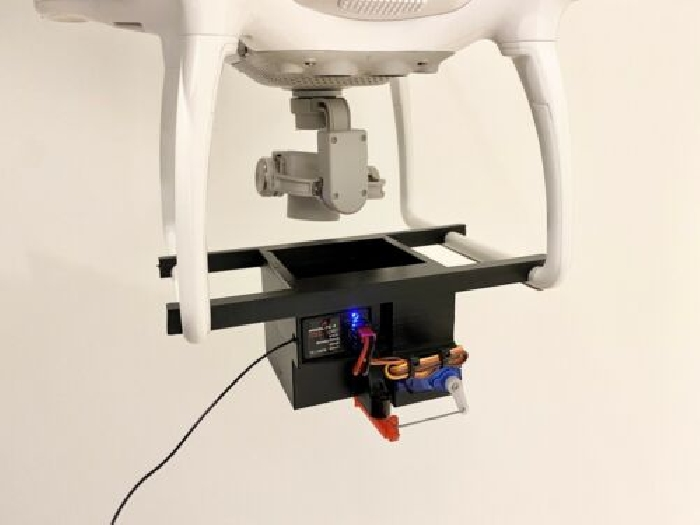 drone DJI phantom Largage Drop Module