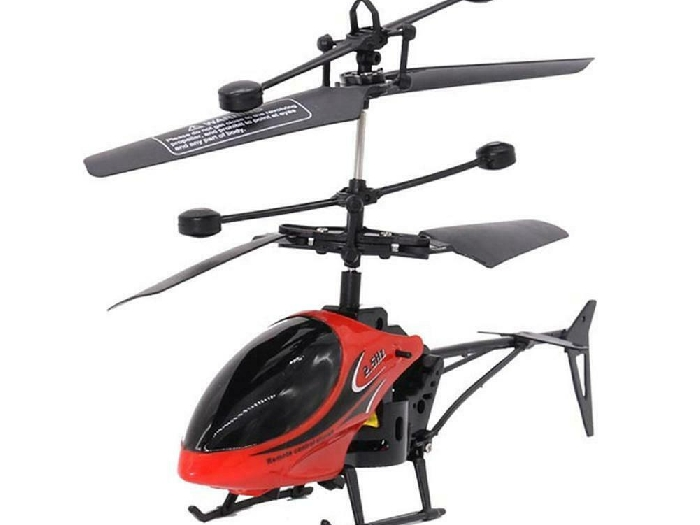 Mini USB Remote Control Helicopter Induction Aircraft RC Drone with Light