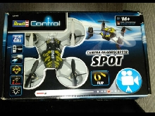Drone Revell Control 23949 Camera Quadrocopter Spot - Complet
